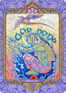 Triple Goddess Tarot – 22 : Infinite Bliss